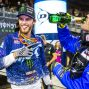 Monster Energy Supercross - Freestyle Photocross - Houston SX - Aaron Plessinger Podium