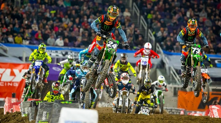 250 Supercross Eastern Regional Start, Minneapolis SX